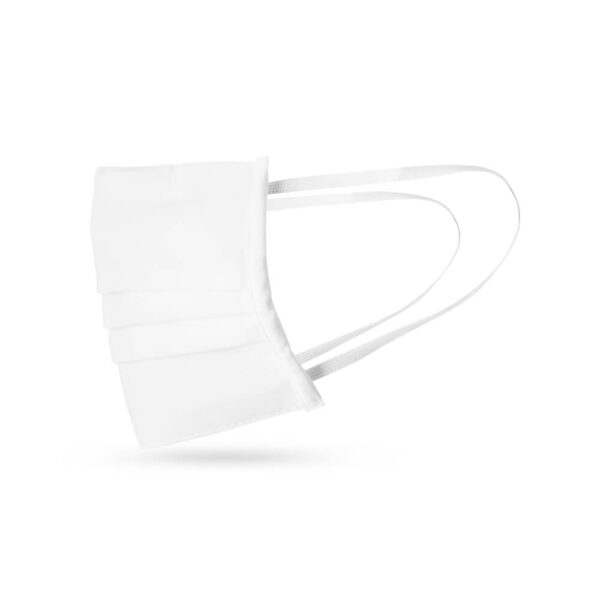 Fabric Facemask White